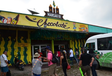 Chocolate Shop in Tabatinga, Brazil