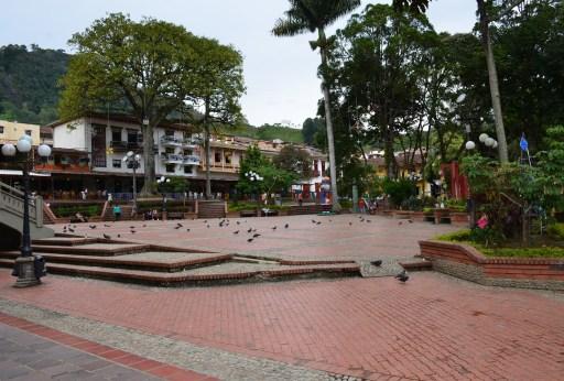 Jericó, Antioquia, Colombia plaza