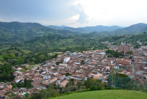 Jericó, Antioquia, Colombia town view