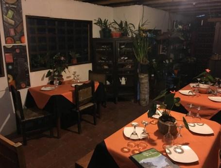 Altos de Yerbabuena restaurant in San Agustín