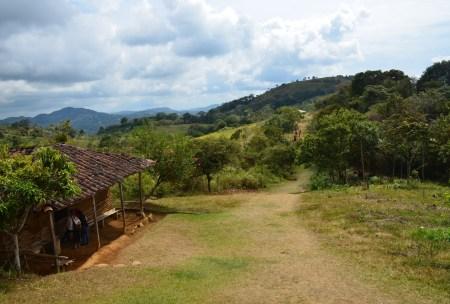 El Purutal in San Agustín Huila Colombia