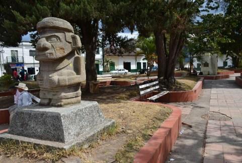 San Agustín Plaza Huila Colombia