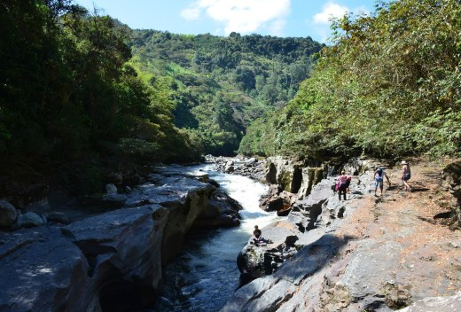 El Estrecho del Río Magdalena San Agustín Huila Colombia
