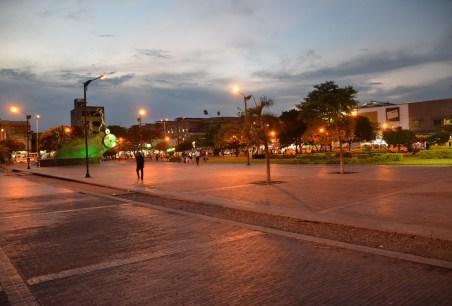 Parque Principal in Neiva Colombia