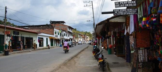 The Town of San Agustín