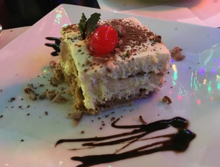 Tiramisu at Restaurante Italiano da Ugo in San Agustín Huila Colombia