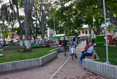 Plaza in Darién, Valle del Cauca, Colombia