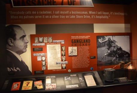 Gangland Exhibit at the Chicago History Museum
