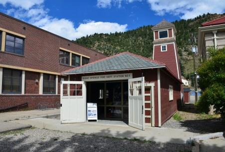 Central Hose House in Idaho Springs, Colorado