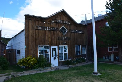 Nederland Town Hall in Colorado