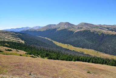Medicine Bow Curve on Trail Ridge Road in Rocky Mountain National Park, Colorado