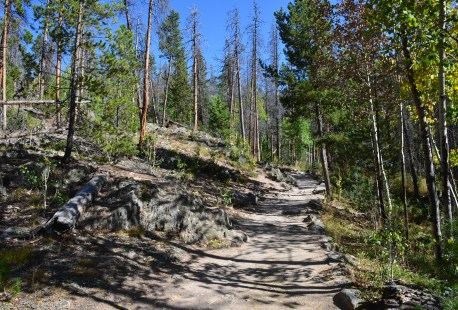East Inlet Trail in Rocky Mountain National Park, Colorado