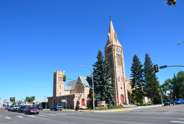 St. Mathew's Episcopal Cathedral in Laramie, Wyoming