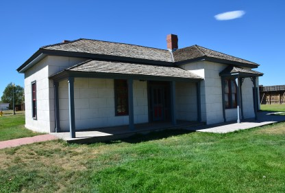 Warden's house at Wyoming Territorial Prison State Historic Site in Laramie