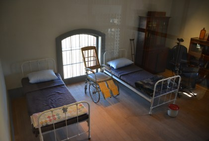 Infirmary at Wyoming Territorial Prison State Historic Site in Laramie