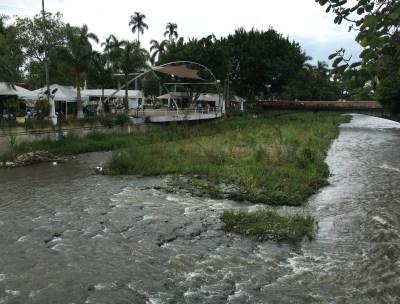 Río Tuluá in Valle del Cauca, Colombia