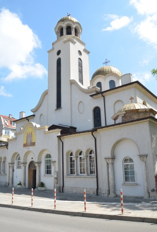Tri Svetiteli Orthodox Church in Shumen, Bulgaria