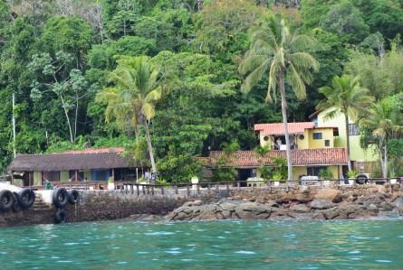 Aquário Hostel on Ilha Grande, Brazil