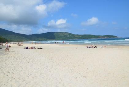 Praia Lopes Mendes on Ilha Grande, Brazil