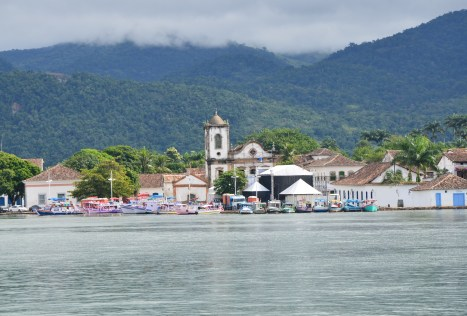 Paraty from the boat, Brazil