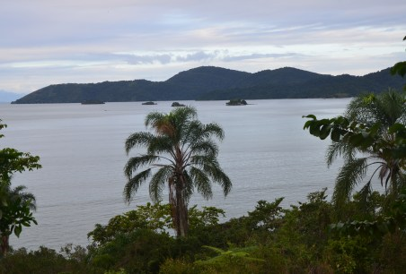 The view from Forte Defensor Perpétuo in Paraty, Brazil