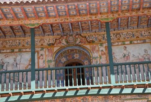 Templo de San Pedro Apóstol in Andahuaylillas, Peru