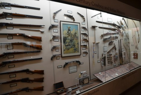 Firearms at the Nelson Museum of the West in Cheyenne, Wyoming