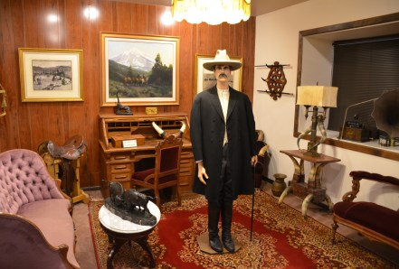 Cattle baron's room at the Nelson Museum of the West in Cheyenne, Wyoming