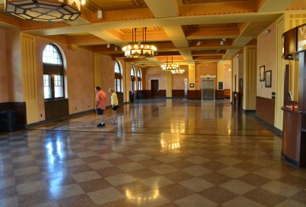 Lobby at the Cheyenne Depot in Wyoming