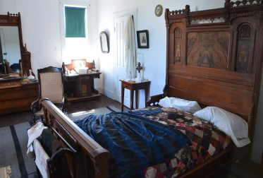 Captain's quarters at Fort Laramie National Historic Site in Wyoming