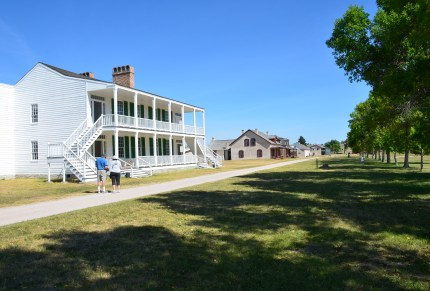 Old Bedlam at Fort Laramie National Historic Site in Wyoming