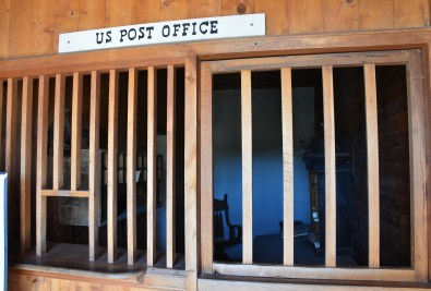 Post office at Fort Laramie National Historic Site in Wyoming