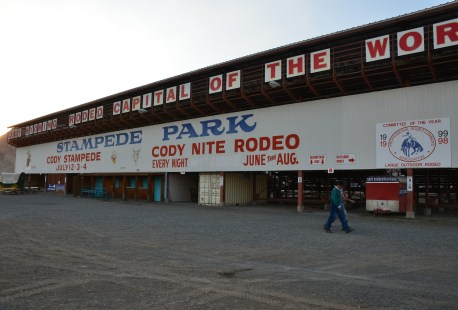 Stampede Park in Cody, Wyoming