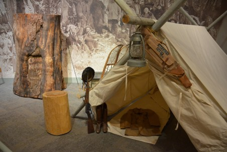 Camp Monaco at the Buffalo Bill Museum at the Buffalo Bill Center of the West in Cody, Wyoming