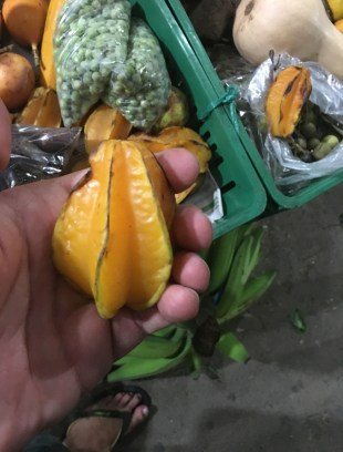 Carambola Fruit in Colombia