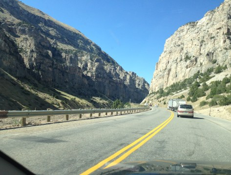 Wind River Canyon Scenic Byway in Wyoming
