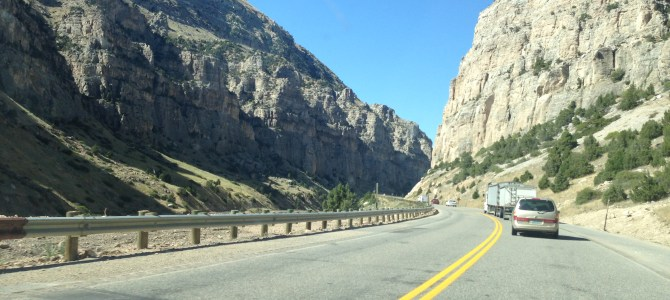 Wind River Canyon Scenic Byway