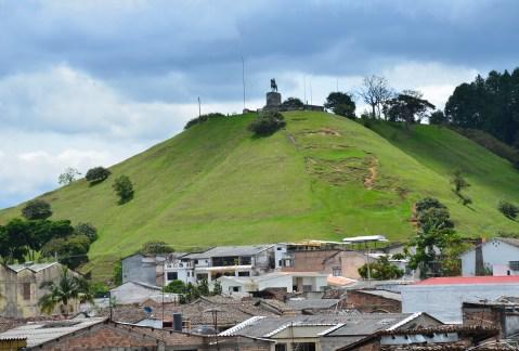 El Morro de Tulcán in Popayán, Cauca, Colombia