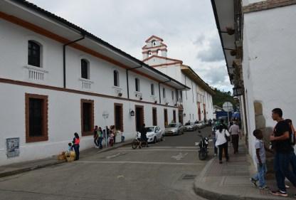 Iglesia del Carmen in Popayán, Cauca, Colombia