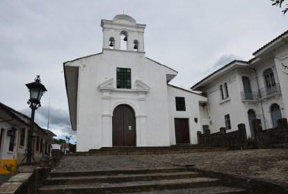 Iglesia La Ermita in Popayán, Cauca, Colombia
