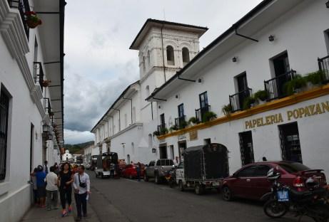 Iglesia de la Encarnación in Popayán, Cauca, Colombia