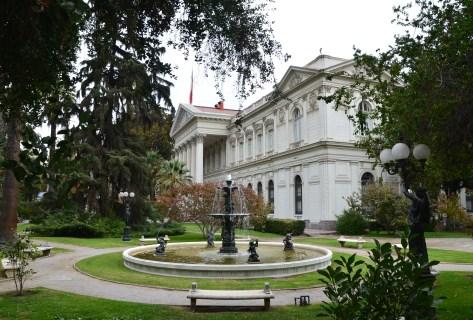 Ex Congreso Nacional in Santiago de Chile