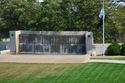 Gold Star Families Memorial and Park in Chicago, Illinois