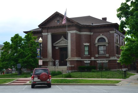 Carnegie Library in Crown Point, Indiana