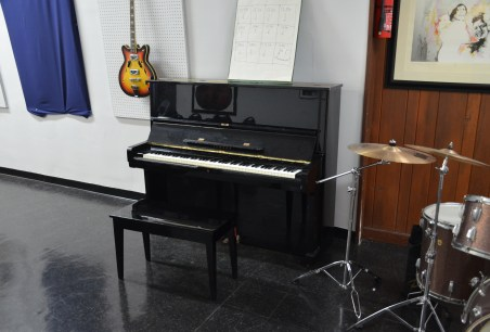 Piano played by Willie Dixon at Chess Records building (Willie Dixon's Blues Heaven) in Chicago, Illinois