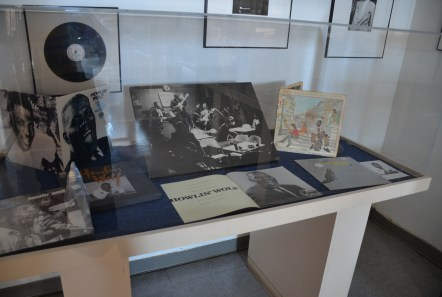 Howlin' Wolf memorabilia at Chess Records building (Willie Dixon's Blues Heaven) in Chicago, Illinois