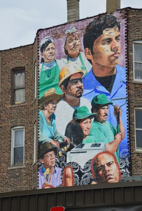 19th and Ashland in Pilsen, Chicago, Illinois