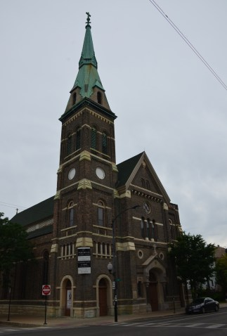 St. Procopius Church in Pilsen, Chicago, Illinois
