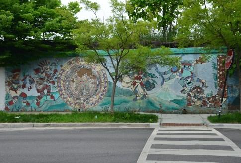 Between Allport and Blue Island in Pilsen, Chicago, Illinois