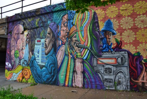Between Paulina and Wood in Pilsen, Chicago, Illinois